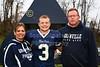 #3, Stephen Klema - Senior Night - Friday, October 26, 2012 - Columbus Academy Vikings at Granville Blue Aces