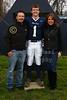 #1, David Fraley - Senior Night - Friday, October 26, 2012 - Columbus Academy Vikings at Granville Blue Aces
