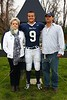 #9, Clayton Plute - Senior Night - Friday, October 26, 2012 - Columbus Academy Vikings at Granville Blue Aces