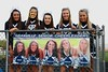 Senior Cheerleaders - Friday, September 28, 2012 - Whitehall-Yearling Rams at Granville Blue Aces - HOMECOMING