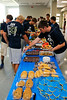 Saturday, August 10, 2013 - The Granville High School Blue Aces football team Family Picnic including work out awards and naming of the Team Captains