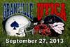 Friday, September 27, 2013 - Granville Blue Aces at Utica Redskins