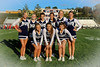 Blue Aces Cheerleaders - Friday, September 27, 2013 - Granville Blue Aces at Utica Redskins