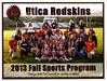 Official Game Program - Friday, September 27, 2013 - Granville Blue Aces at Utica Redskins