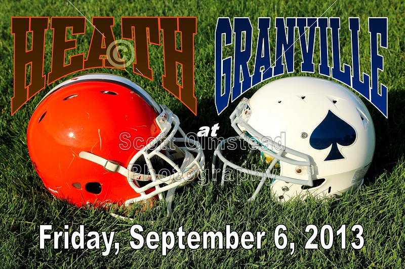 Friday, September 6, 2013 - Heath Bulldogs at Granville Blue Aces