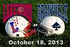 Friday, October 18, 2013 - Lakewood Lancers at Granville Blue Aces - Senior Night