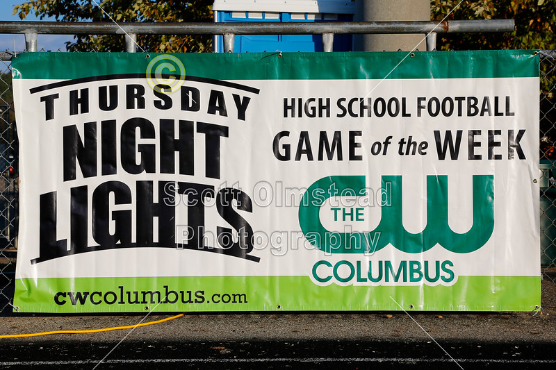 Local Radio and Central Ohio Television Coverage - Thursday, October 24, 2013 - Newark Catholic Green Wave at Granville Blue Aces