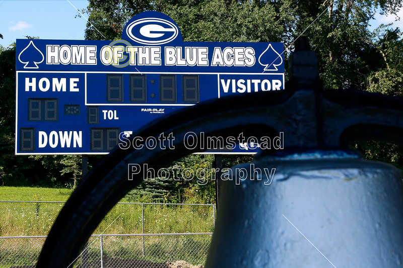 The Ace Stadium is located in Granville, Ohio, and home to The Blue Aces - Sunday, August 4, 2013