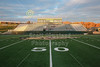 Athens Stadium, Home to the Bulldogs - Granville High School Blue Aces at Athens High School Bulldogs for the First Round of the O.H.S.A.A. Playoffs - Friday, November 7, 2014