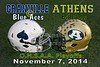Granville High School Blue Aces at Athens High School Bulldogs for the First Round of the O.H.S.A.A. Playoffs - Friday, November 7, 2014