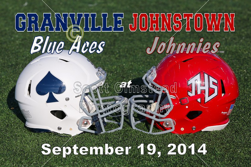 Granville Blue Aces at Johnstown Johnnies - Friday, September 19, 2014