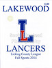 Official Game Program - Granville High School Blue Aces at Lakewood High School Lancers - Friday, October 17, 2014