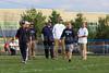 Pregame Warmups - Granville High School Blue Aces at Lakewood High School Lancers - Friday, October 17, 2014