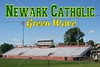 White Field, Home for the Newark Catholic Green Wave (and the Newark High School Wildcats) - Granville High School Blue Aces at Newark Catholic High School Green Wave - Friday, October 24, 2014