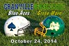 Granville High School Blue Aces at Newark Catholic High School Green Wave - Friday, October 24, 2014