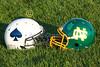Pregame Warmups - Granville High School Blue Aces at Newark Catholic High School Green Wave - Friday, October 24, 2014