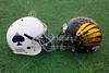 Pregame Warm-Ups - Granville High School Blue Aces at Watkins-Memorial High School Warriors - Friday, October 3, 2014
