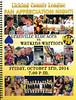 Official Game Program - Granville High School Blue Aces at Watkins-Memorial High School Warriors - Friday, October 3, 2014