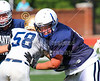 The first preseason scrimmage of the season.  The Lancaster Golden Gales versus the Granville Blue Aces, held at Piper Stadium on the campus of Denison University in Granville,Ohio. - Tuesday, August 12, 2014