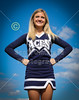 Introducing the Senior Cheerleaders for the Granville High School (Ohio) Blue Aces 2014 Football Season - Thursday, July 24, 2014