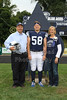 Senior Night - Cambridge High School Bobcats at Granville High School Blue Aces - Friday, September 12, 2014