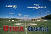 Utica High School Redskins at Granville High School Blue Aces - Friday, September 26, 2014