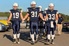 Granville Blue Aces Take the Field - Utica High School Redskins at Granville High School Blue Aces - Friday, September 26, 2014