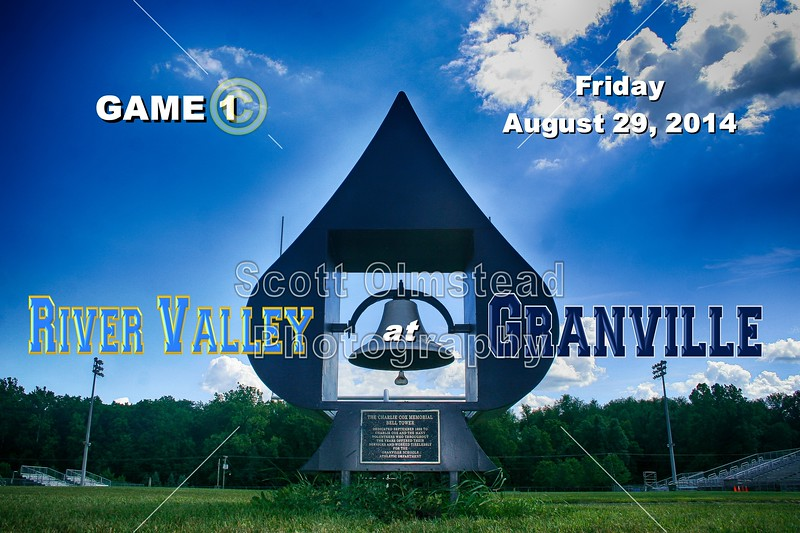 Marion River Valley Vikings at Granville Blue Aces - Friday, August 29, 2014