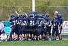 1st Quarter - Middle School 7th Grade Football - Licking Heights Hornets at Granville Blue Aces - Tuesday, September 30, 2014
