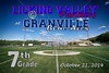 Middle School 7th Grade Football - Licking Valley Panthers at Granville Blue Aces - Tuesday, October 21, 2014