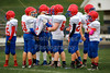 1st Quarter - Middle School 7th Grade Football - Licking Valley Panthers at Granville Blue Aces - Tuesday, October 21, 2014