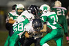 4th Quarter - Middle School 8th Grade Football - Granville Blue Aces at Newark Catholic Green Wave - Monday, Octover 13, 2014