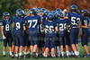 1st Quarter - Middle School 8th Grade Football - Licking Heights Hornets at Granville Blue Aces - Tuesday, September 30, 2014
