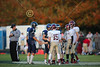 Team Captains and the Coin Toss - Middle School 8th Grade Football - Licking Heights Hornets at Granville Blue Aces - Tuesday, September 30, 2014
