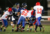 4th Quarter - Middle School 8th Grade Football - Licking Valley Panthers at Granville Blue Aces - Tuesday, October 21, 2014