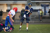 1st Quarter - Middle School 8th Grade Football - Licking Valley Panthers at Granville Blue Aces - Tuesday, October 21, 2014