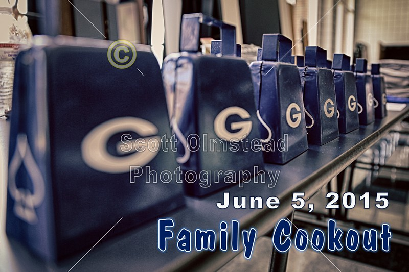 The First Annual Granville High School Blue Aces Football Team Family Cookout - Friday, June 5, 2015