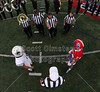 Team Captains and the Coin Toss - Granville High School Blue Aces at Licking Valley High School Panthers - Friday, October 9, 2015