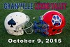 Granville High School Blue Aces at Licking Valley High School Panthers - Friday, October 9, 2015