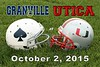 Granville High School Blue Aces at Utica High School Redskins - Friday, October 2, 2015