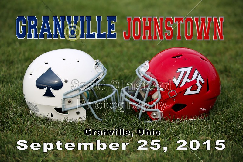Johnstown High School Johnnies at Granville High School Blue Aces - Friday, September 25, 2015