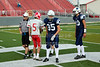 Team Captains and the Coin Toss - Junior Varsity - Granville High School Blue Aces at Sheridan High School Generals - Saturday, August 29, 215