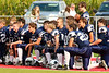Pregame Pep Talk - Junior Varsity - Granville High School Blue Aces at Sheridan High School Generals - Saturday, August 29, 215