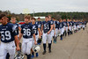 The Blue Aces Take the Field - Lakewood High School Lancers at Granville High School Blue Aces - Friday, October 30, 2015