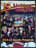 Official Game Day Program - Granville High School Blue Aces at Licking Heights High School Hornets - Friday, October 23, 2015