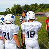 "Team Captains and the Coin Toss - 5th & 5th Grade ""Senior League"" Football - Granville Blue Aces at Utica Redskins - Sunday, August 25, 2019"