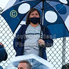Pregame Blue Ace Fans - O.H.S.A.A. State Playoffs - Granville High School Blue Aces at Columbus St. Francis DeSales High School Stallions - Friday, October 23, 2020