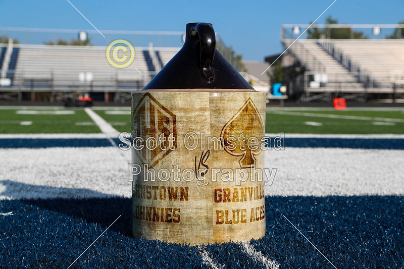 The 106th Meeting in The Battle for The Jug - Johnstown High School Johnnies at Granville High School Blue Aces - Friday, September 25, 2020