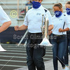 The Blue Ace Marching Band Makes Their Entrance - Johnstown High School Johnnies at Granville High School Blue Aces - The 106th Meeting in The Battle for The Jug - Friday, September 25, 2020