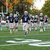 The Granville Blue Aces Take the Field - Johnstown High School Johnnies at Granville High School Blue Aces - The 106th Meeting in The Battle for The Jug - Friday, September 25, 2020